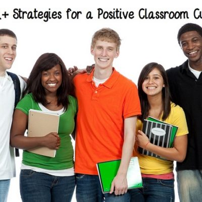 The 5 A's for Creating a Positive Classroom Culture